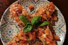Cava Andalusië | Bruschetta tomaat