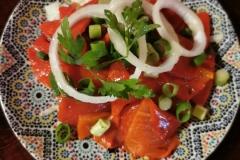 Cava Andalusië | Salade van grillde paprika